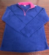 GIRLS EX BRAND FLEECE TOP
