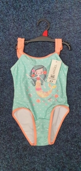 GIRLS EX STORE MERMAID SWIMMING COSTUME