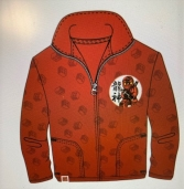 BOYS LICENSE LEGO NINJANGO FLEECE JACKET