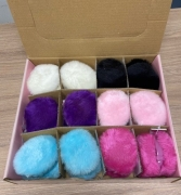 FLUFFY EAR MUFFS IN PRESENTATION BOX
