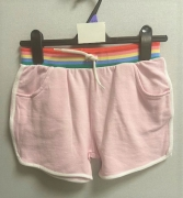 KIDS EX STORE RAINBOW WAIST FLEECE SHORTS