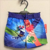 BOYS LICENSE PJ MASKS LINED SWIMSHORTS